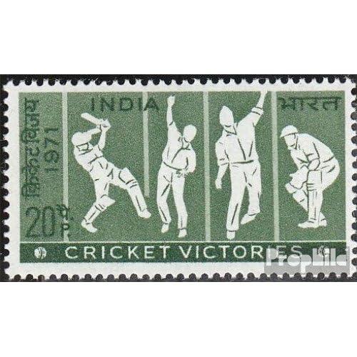 inde 534 (complète.Edition.) 1971 cricket (Timbres pour les collectionneurs)