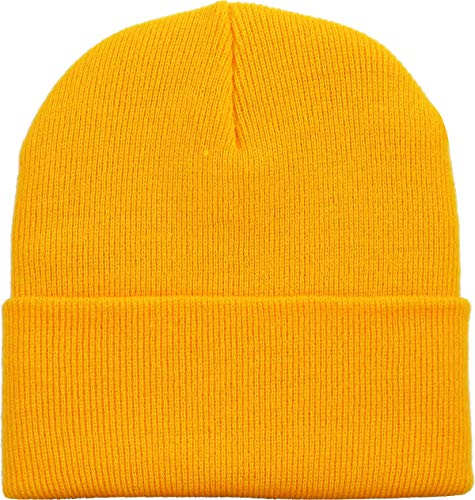 k Beanie Skully Slouchy & Cuff Winter Hat Made in USA ()