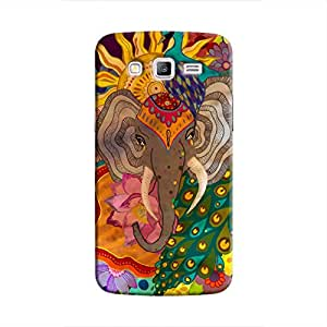 Cover It Up Indian Dreams Hard Case For Samsung Galaxy J2, Multi Color