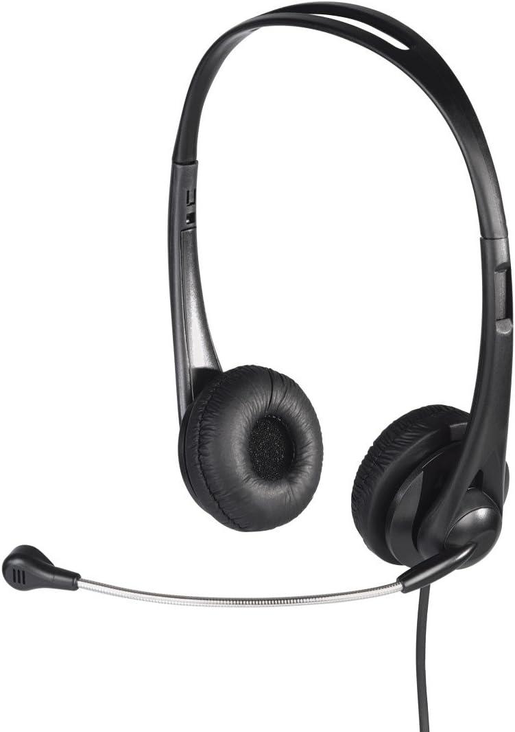 Hama 53963 Hs 260 Pc Headset Schwarz Computer Zubehör