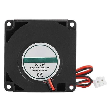 ASHATA Ventilador para Impresora 3D, Ventilador DC12V 40x40x10mm ...