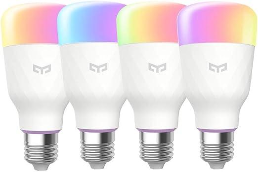Yeelight Smart Leuchtmittel 10W RGBW WiFi kein Hub Beleuchtung dimmbar mit APP