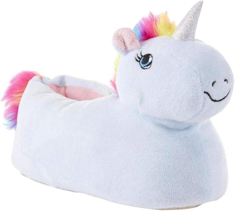 Unicorn Girls Slippers Plush Comfy
