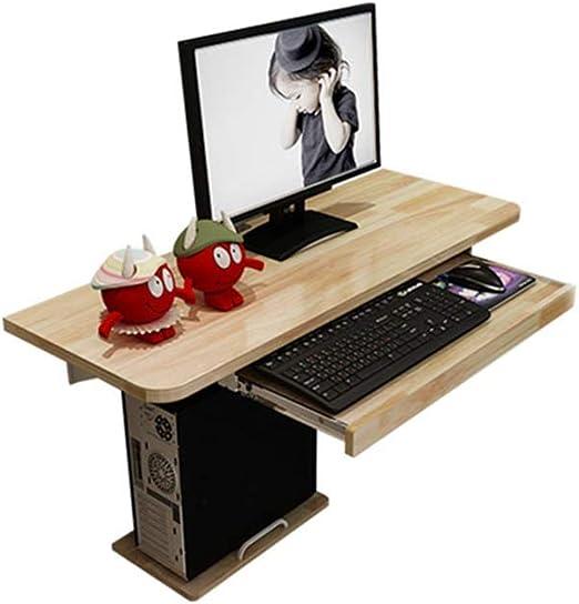 Xyanzi Escritorio de computadora montado en la Pared, Mesa de ...