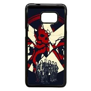 Agents of S.H.I.E.L.D Funda Samsung Galaxy Note 5 Edge Funda Caja del teléfono celular Negro S6Y5XQ Moda de plástico caja del teléfono celular