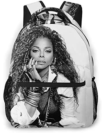 Janet Jackson Band Classic Custom Leisure Travel Park Multi-function Backpack / Janet Jackson Band Classic Custom Leisure Travel Park Multi-function Backpack