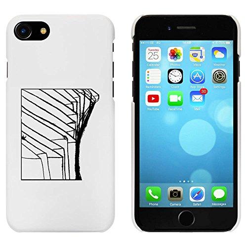 Blanc 'Motif Abstrait' étui / housse pour iPhone 7 (MC00063102)
