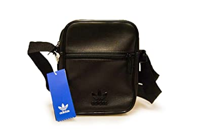 adidas Unisex Small Item Bag-1 Black  Amazon.co.uk  Shoes   Bags 2db0a75dff