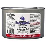 ** Methanol Gel Chafing Fuel Can, 2 1/2hr Burn, 7oz, 72/Carton **