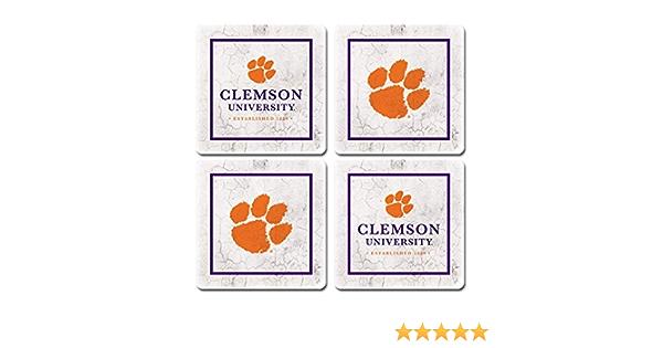 One Size Sandstone NCAA Legacy Virginia Tech Hokies Thirsty Coaster 4-Pack