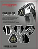 CULINARY CREME BRULEE TORCH | KITCHEN HAND TORCH - TRIPLE Flame Cooking Torch - Elegant Chef Torch To Master Recipes & Enhance Your Dining - Food Blow Torch To Impress Guests - Butane not included