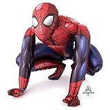 Spiderman Airwalker Life Size Foil Helium Birthday Party XL Balloon