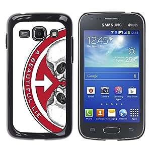 EJOY---Cubierta de la caja de protección la piel dura para el / Samsung Galaxy Ace 3 / --UNA VIDA HERMOSA