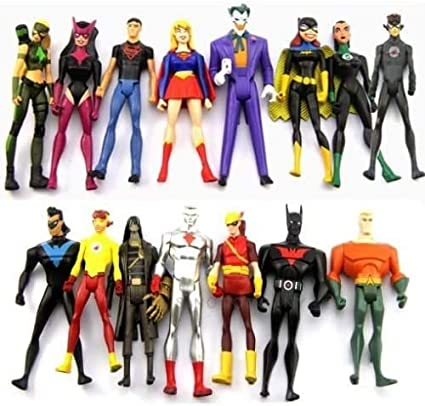 Young Justice Super Hero Action Figure Set