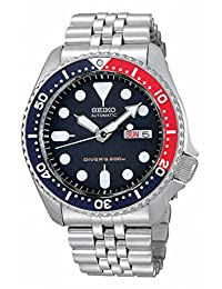 Seiko SKX009 Men's Mechanical Divers Wrist Watch