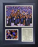 NCAA Duke Blue Devils 2015 Basketball National Champions Legends Never Die Celebration Framed Photo Collage, 11' x 14', Black