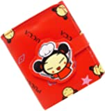 Pucca Club Trifold with Coin Section Wallet in Red