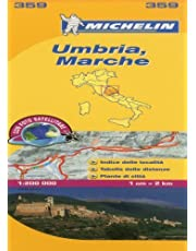 Michelin Map Italy: Umbria, Marche 359 (Maps/Local (Michelin)) (Italian Edition) by Michelin (2011-05-16)