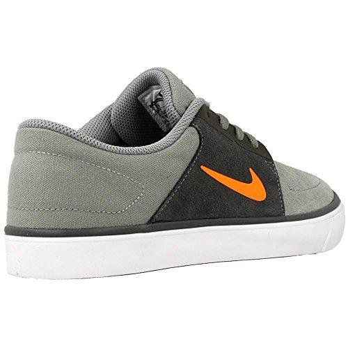 Nike - SB Portmore GS - Color: Grigio-Nero - Size: 36.5