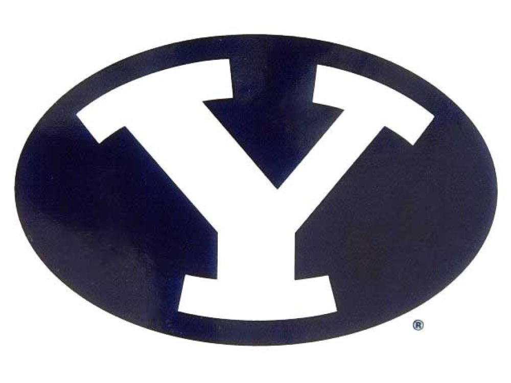 Rico NCAA BYU Cougars Small Static Decal
