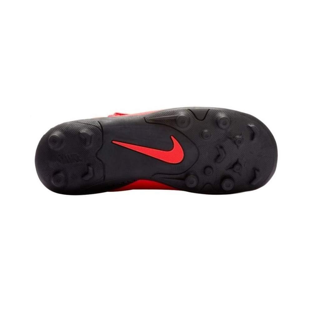 Nike Botas de Futbol CR7 Mercurial Vapor 12 Club Suela MG con Velcro Roja Niño: Amazon.es: Deportes y aire libre