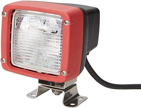 Hella 1ga 998 534 011 Xenon Arbeitsscheinwerfer Ultra Beam 24v Anbau Hängend Stehend Weitreichende Ausleuchtung Kabel 440mm Auto