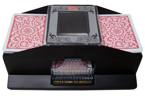 2 Deck Playing Card Shuffler - Bicycle Brand