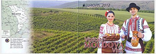 Europa Cept 2012 / Booklet of 2 sheets of 3 stamps / Moldovan Tourism - Visit Moldova / Moldova Republic / 2012 / MNH