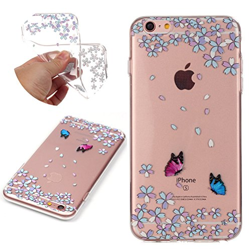 Silicone Transparent Embossed Pattern Butterfly product image
