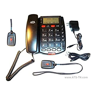 ATS-TN ats-pavdii-2npb Personal Assistance Voice Dialer II (PAVDII) with (2) Necklace Panic Buttons