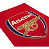 Official Arsenal FC Rug - A Great Gift / Present For Men, Boys, Sons, Husbands, Dads, Boyfriends For Christmas, Birthdays, Fathers Day, Valentines Day, Anniversaries Or Just As A Treat For Any Avid Football Fan