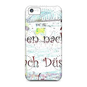 Case Cover Cat Kittycat Nice Naughty/ Fashionable Case For Iphone 5c
