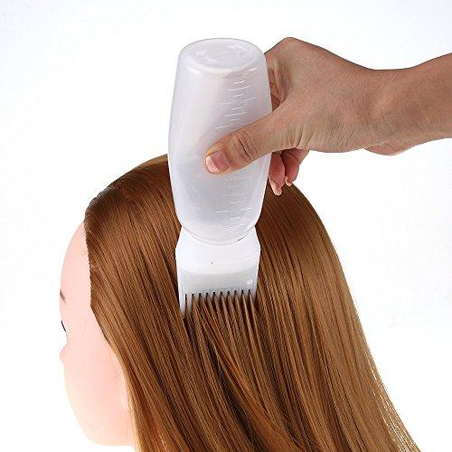Jonerytime Hot Hair Dye Bottle Applicator Brush Dispensing Salon Hair Coloring Dyeing (Best Men's Hair Color 2019)