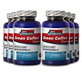 Green Coffee Bean Extract Cleanse - Clean & Detoxify Your Body (6 Bottles)