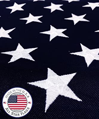 Annin Flag makers All star Flag HEAVY-DUTY American Flag 3x5' - 100% Made in the USA