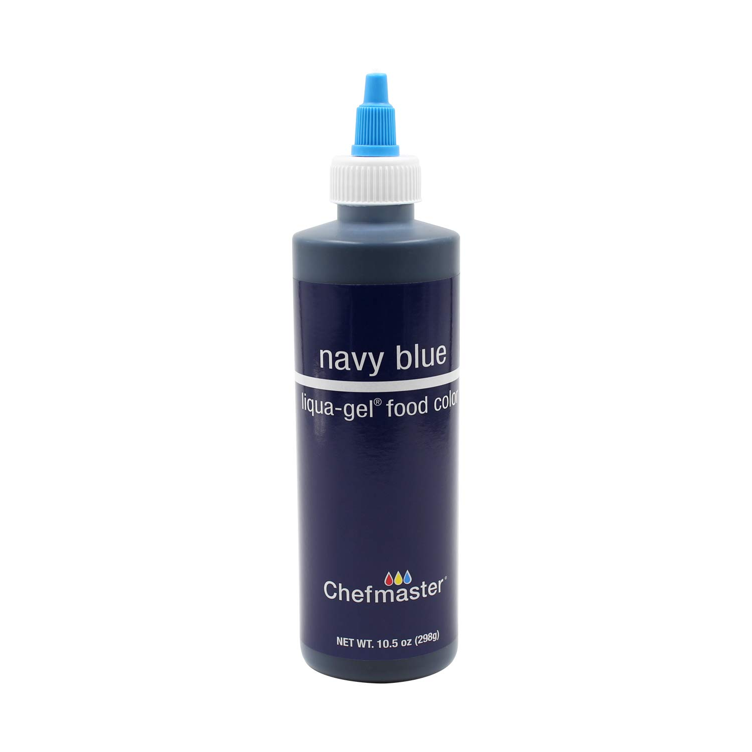 Chefmaster Liqua-gel Colour - Navy Blue 10 oz