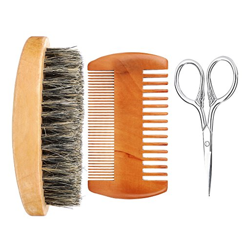Filfeel Beard Brush Kit, Men Fac...