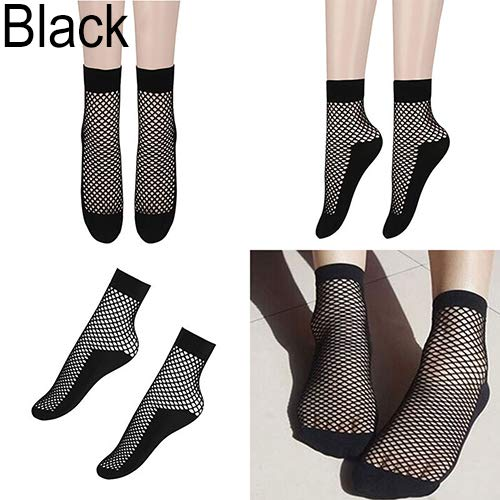 (Cameo Curio Fishnet Anklet Socks, 2 pack )