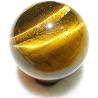 Curación Bola, Amarillo Redondo Esfera Colgantes Juguete Cristal