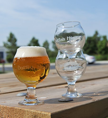 Dogfish Head Craft Brewed Ales - Stackable Tasting Glass (Best India Pale Ales)