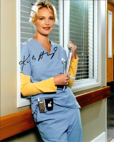 Katherine Heigl in Grey's Anatomy Signed Autographed 8 X 10 Reprint Photo - (Mint Condition) Katherine Heigl Signed