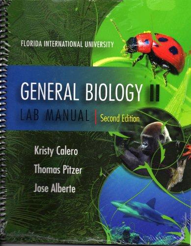 General Biology II Lab Manual