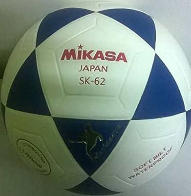 Mikasa balón de fútbol sala de fútbol sk-62 color blanco/azul ...
