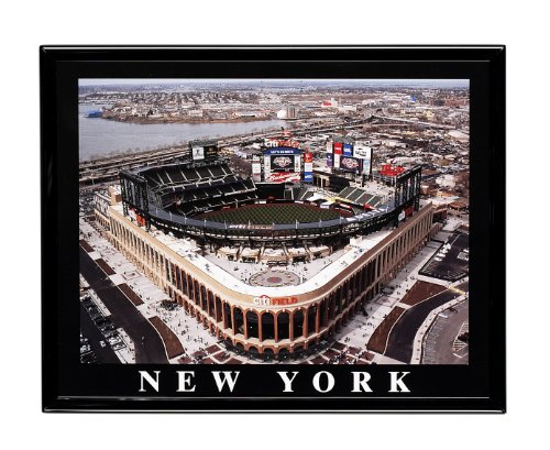 New York Mets Citi Field Opening Day Framed Aerial Photo F7579AA