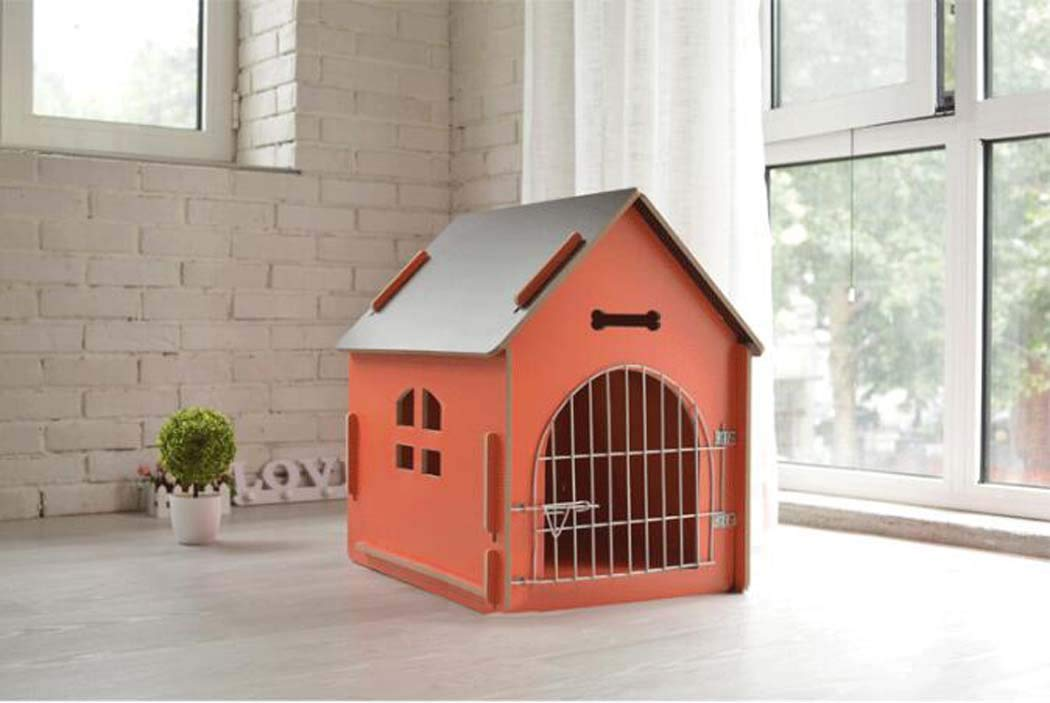 NO8 Large NO8 Large New Wooden Dog House. Kennel. Dog Mattress Cat Litter Wooden Dog Room, Pet Playpens,NO8,L