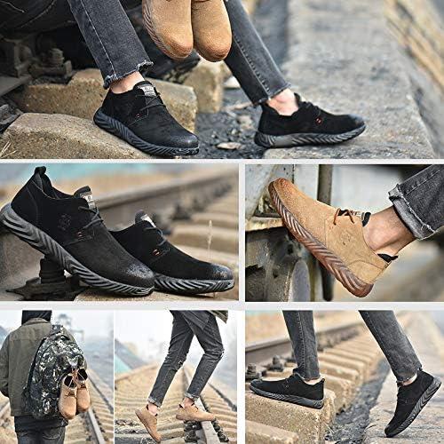 AFFINEST Chaussures de s/écurit/é Homme Femme Baskets de s/écurit/é Embout Chaussures de Travail Acier Respirant