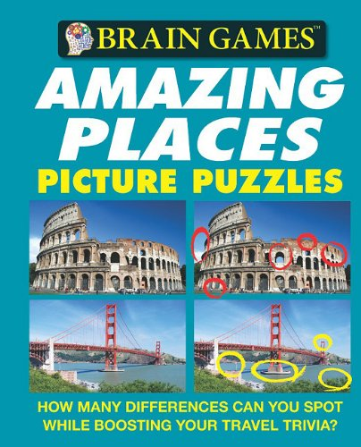 Brain Games: Amazing Places Picture Puzzles (Brain Games (Unnumbered))