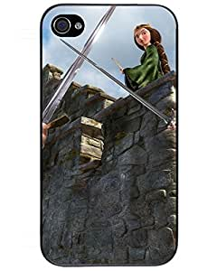 Comics Iphone4s Case's Shop 3239801ZG629542623I4S New Arrival Premium iPhone 4/4s Case(Brave)