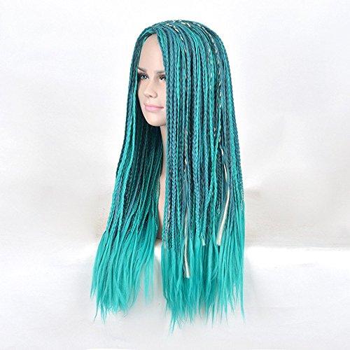 Largo Medio parte sintético trenzado descendientes 2 Uma Cosplay peluca: Amazon.es: Belleza