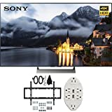 Sony XBR-49X900E 49-inch 4K HDR Ultra HD Smart LED TV (2017 Model) with TV Mount Bundle